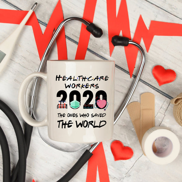 Healthcare Workers 2020 The ones who saved the world Sublimation Transfer