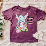 Happy Easter Gnomies YOUTH Screen Print Heat Transfer