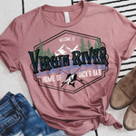 Welcome to Virgin River Screen Print Heat Transfer