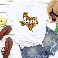 Texas Leopard and Sunflower with Home Sublimation Transfer