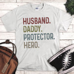 Husband Daddy Protector Hero Sublimation Transfer
