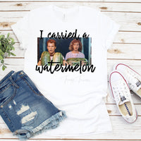 I Carried A Watermelon Fan Art Dirty Dancing Sublimation Transfer