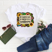 In a world full of pansies be a sunflower Sublimation Transfer