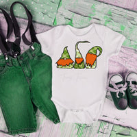 St. Patricks Gnomes Infant/toddler Screen Print Heat Transfer