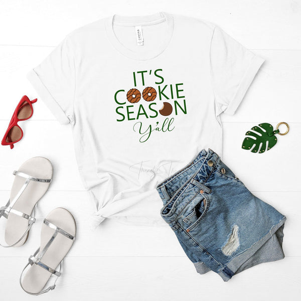 Its Cookie Season Girl Scouts Sublimation Transfer