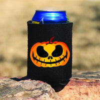 Jack O Lantern Pocket/Can Hugger Screen Print Heat Transfer