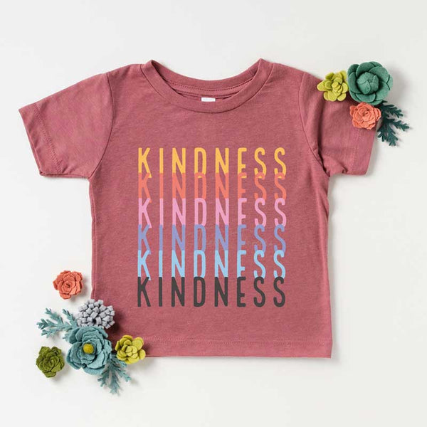 Kindness Stacked YOUTH Screen Print Heat Transfer