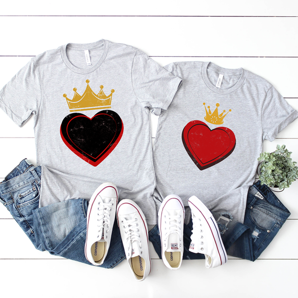 King of Hearts Sublimation Transfer