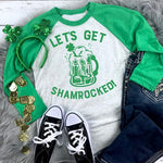 Let's get shamrocked Screen Print Transfer