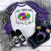 Let Them Eat The King Cake Sublimation Transfer