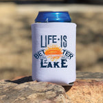 Life Is Better At The Lake POCKET Screen Print Heat Transfer