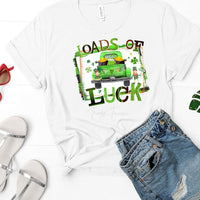 Loads Of Luck St. Patricks Day Sublimation Transfer