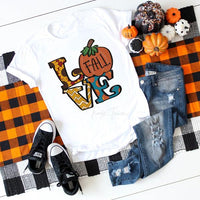 Love Fall Sublimation Transfer