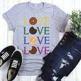Love Love Love It's Cookie Time Girl Scouts Sublimation Transfer