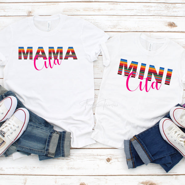 Serape Mini Cita YOUTH and TODDLER Sublimation Transfer