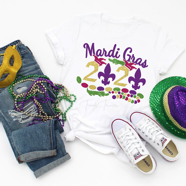 Mardi Gras 2020 Sublimation Transfer