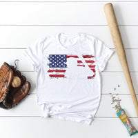 MLB flag with ball and player cutout Sublimation Transfer