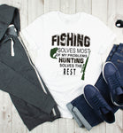 Fishing Solves Most Of My Problems Sublimation Transfer