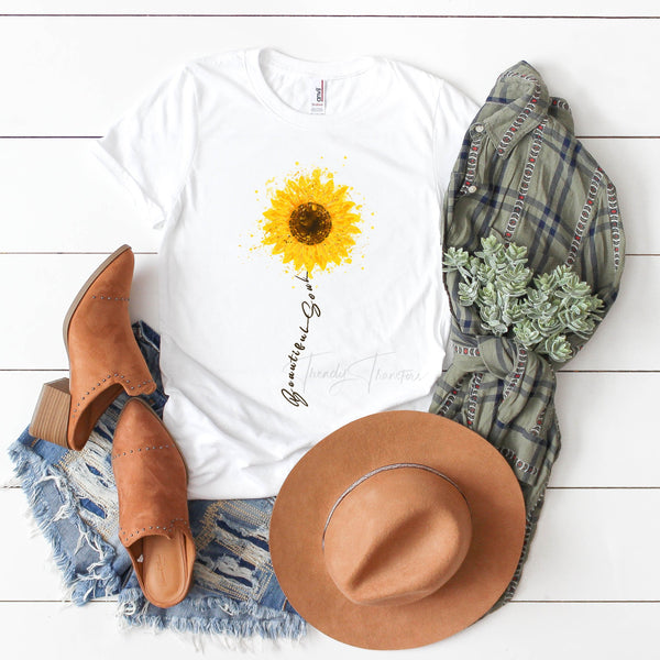 Beautiful Soul Sunflower Sublimation Transfer