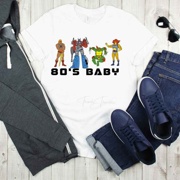 80's Baby Sublimation Transfer