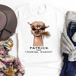 "Patrick The ""Mortal Enemy"" Sublimation Transfer"