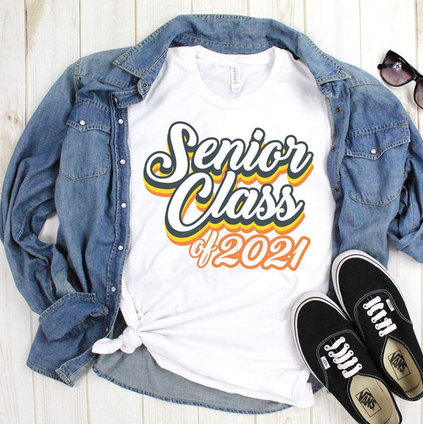 Senior 2021 Sublimation Transfer