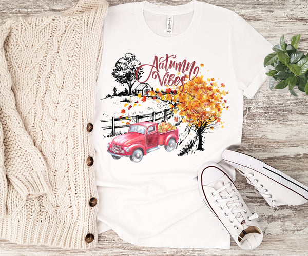 Autumn Vibes Sublimation Transfer
