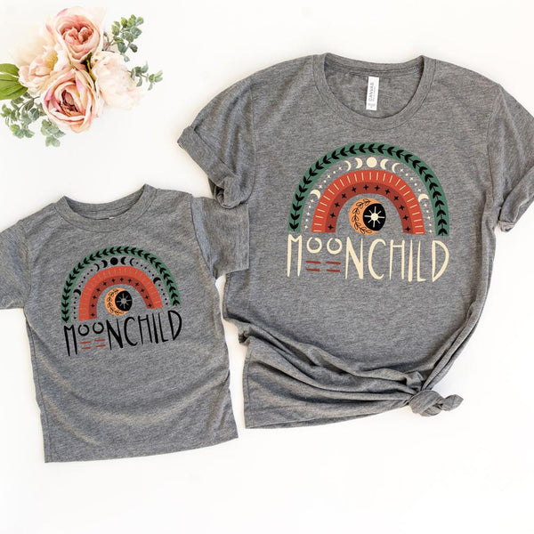 Moonchild Rainbow YOUTH Screen Print Heat Transfer