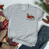 Christmas Most Wonderful Time Pocket  Screen Print Heat Transfer