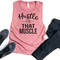 Hustle For That Muscle Sublimation Transfer