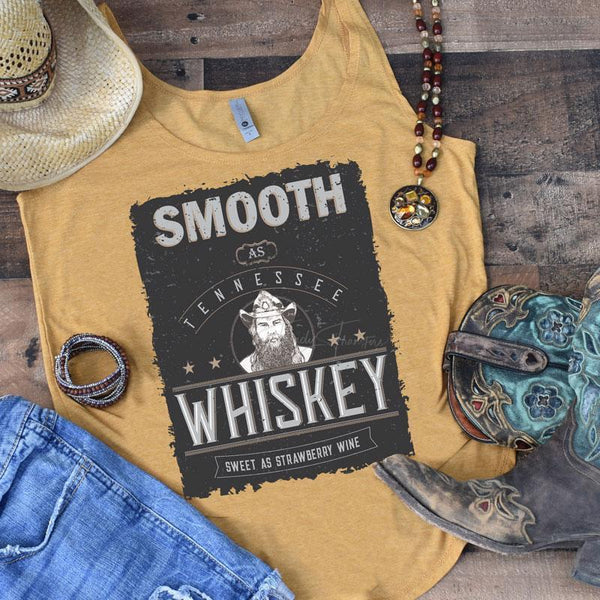 Smooth As Tennessee Whiskey Screen Print Transfer
