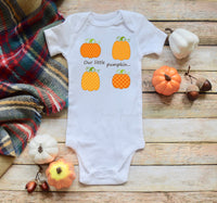 Our Little Pumpkin Patchwork Sublimation Transfer