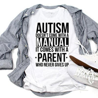 Autism Doesnt Come With A Manual Sublimation Transfer