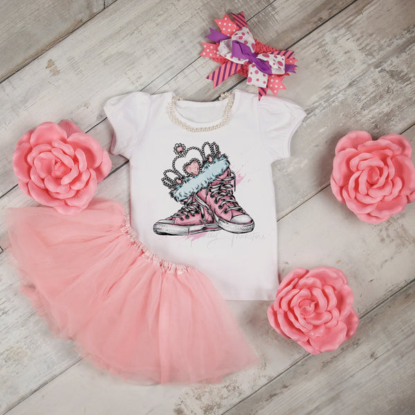 Princess Tennis Shoes Sublimation Transfer