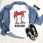 Busy Raising Ballers Baseball Sublimation Transfer