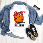 Busy Raising Ballers Basketball Sublimation Transfer