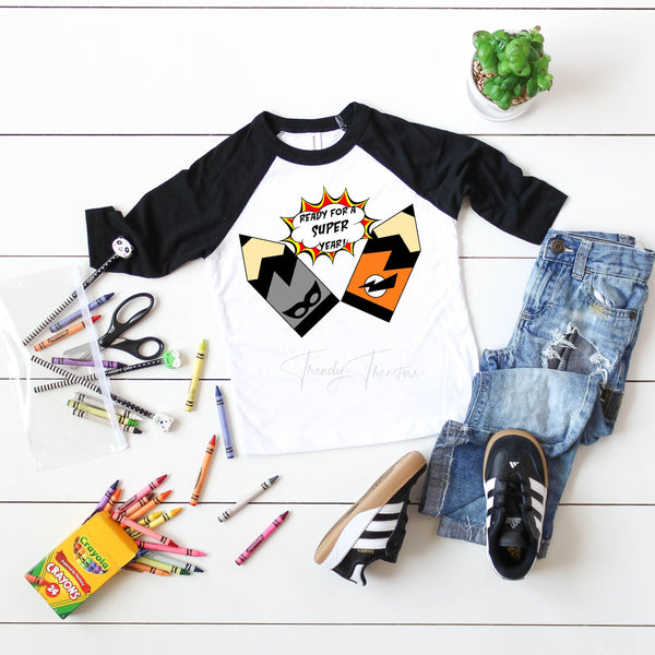 Ready For a SUPER Year Back To School Sublimation Transfer