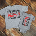 Remember Everyone Deployed YOUTH & INFANT Screen Print Heat Transfer