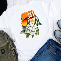 Reel Cool Pop Fishing Sublimation Transfer