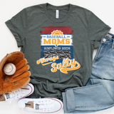 Baseball Mom Always Salty Screen Print Heat Transfer