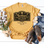 Sanderson Bed and Breakfast Sublimation Transfer
