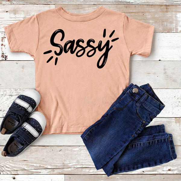 Sassy Youth Screen Print Heat Transfer