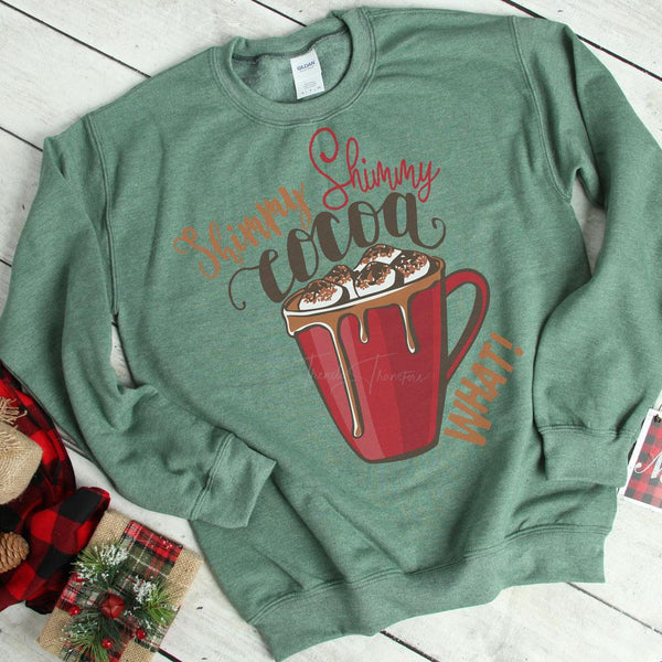 Shimmy shimmy cocoa what! Screen Print Heat Transfer