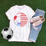 Soccer mom sweet amazing psychotic Sublimation Transfer