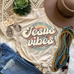 Jesus Vibes BOHO Screen Print Heat Transfer