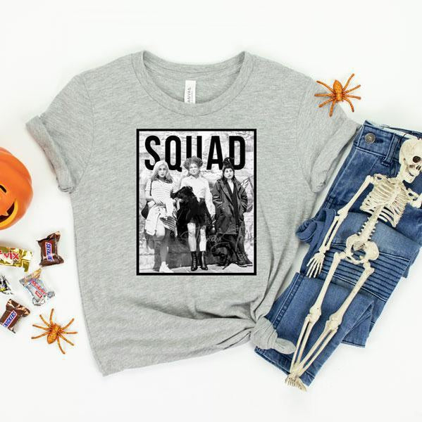 YOUTH Squad Sanderson Sisters  LOW HEAT Screen Print Heat Transfer
