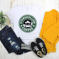 Stars Hollow Coffee Starbucks Inspired Gilmore Girls Fan Art Sublimation Transfer