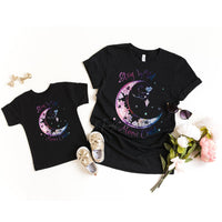 Stay Wild Moon Child Youth and Infant Screen Print Heat Transfer