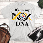 Steelers It's in My DNA Sublimation Transfer