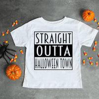 Straight Outta Halloweentown Sublimation Transfer